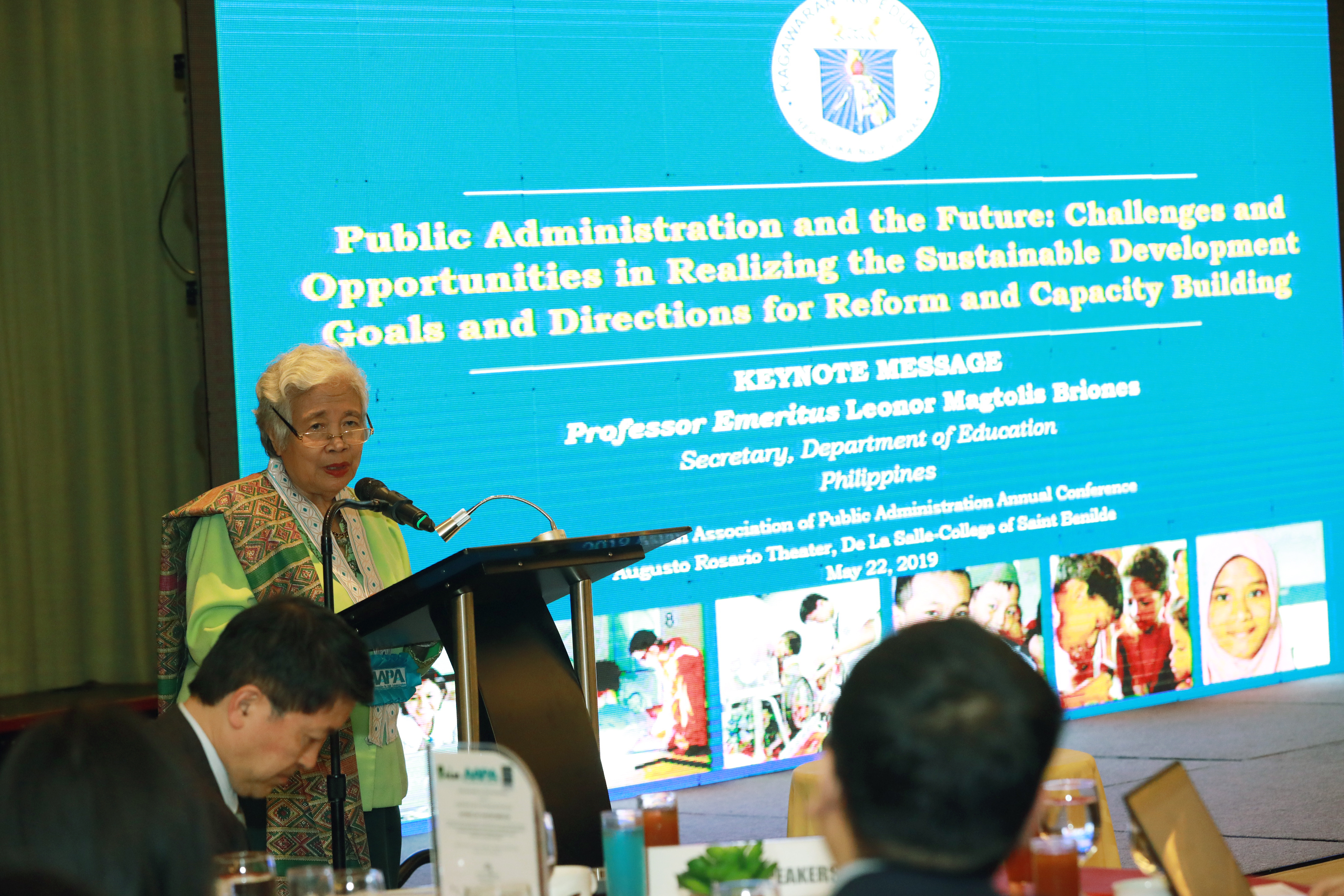 Briones keynotes annual conference on public administration